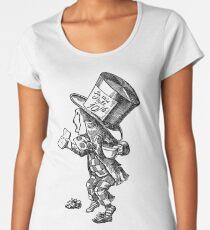 Mad Hatter - Alice in Wonderland Women's Premium T-Shirt