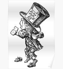 Mad Hatter - Alice in Wonderland Poster
