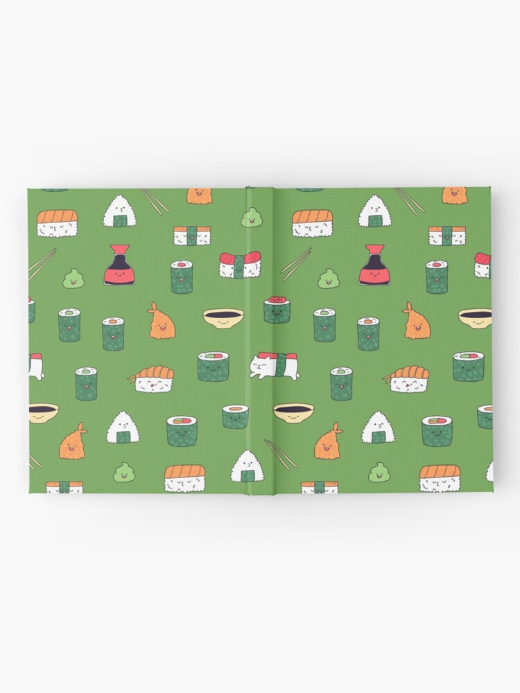 Alternate view of Kawaii sushi Hardcover Journal
