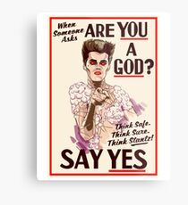 Are You a God? Metal Print