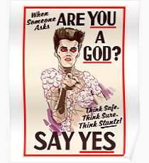 Are You a God? Poster