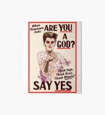 Are You a God? Art Board