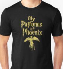 Patronum Phoenix spell vintage logo T-Shirt