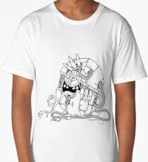 Cyberart Dark Pokemon Pokeball Long T-Shirt