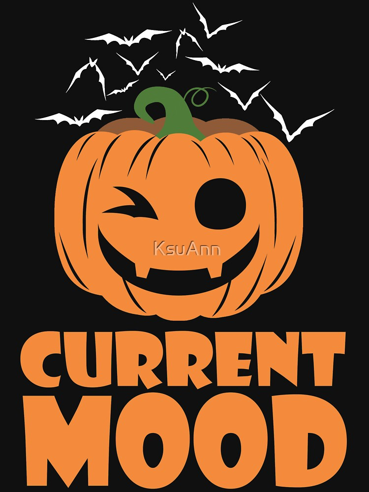 Halloween Current Mood Cute Pumpkin by KsuAnn