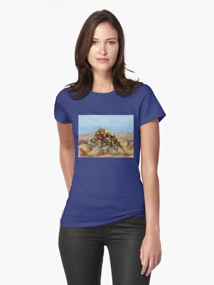 Tardigrade monster Womens T-Shirt Front
