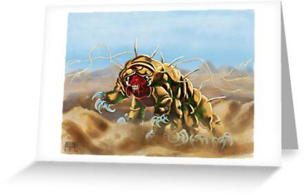 Tardigrade monster by Bertoni-Lee