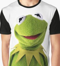 Kermit The Frog T-shirt Graphic T-Shirt