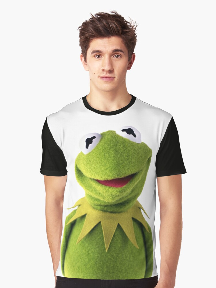 Kermit The Frog T-shirt Graphic T-Shirt Front
