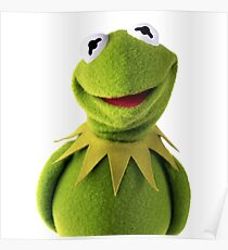 Kermit The Frog T-shirt Poster