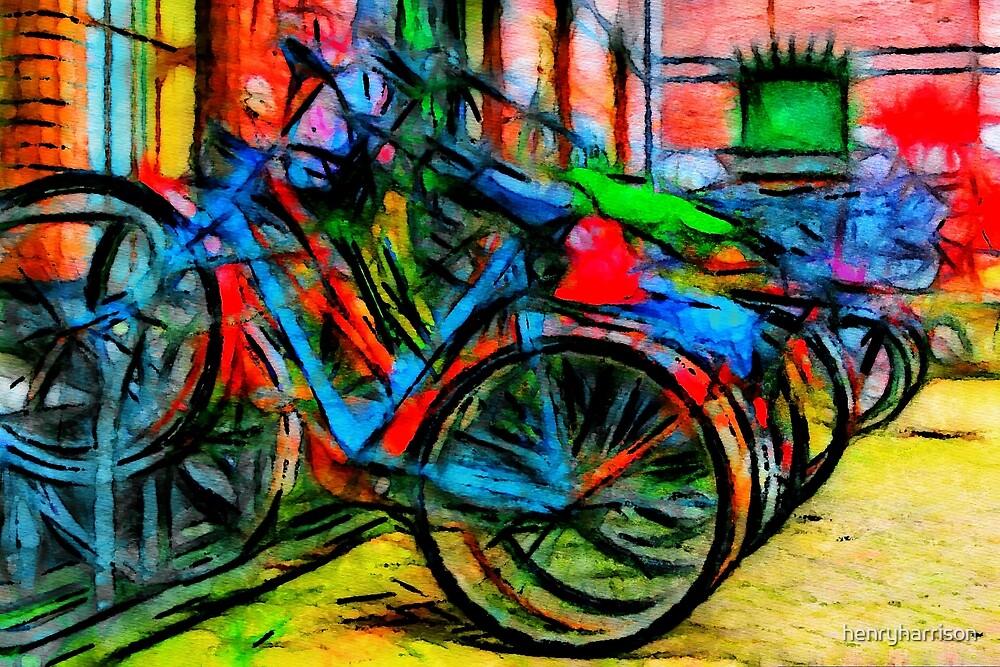 Amsterdam Bikes by henryharrison