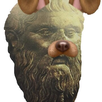 Plato Doggo by HofTurk