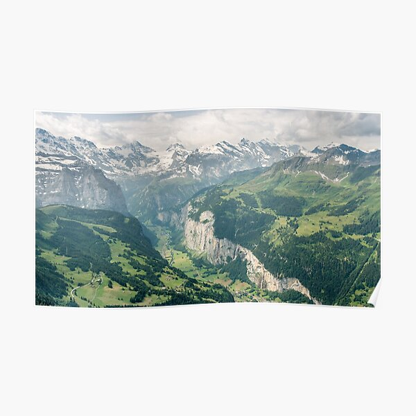 Lauterbrunnen Valley Poster