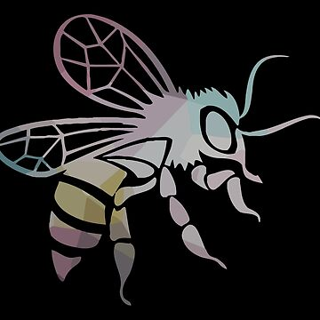 GEOMETRIC HORNET BEE by t058840758