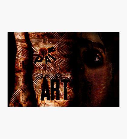 Art/Pain Photographic Print