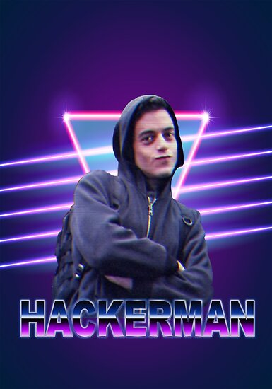 Quot Hackerman Quot Poster By Gabrilol Redbubble