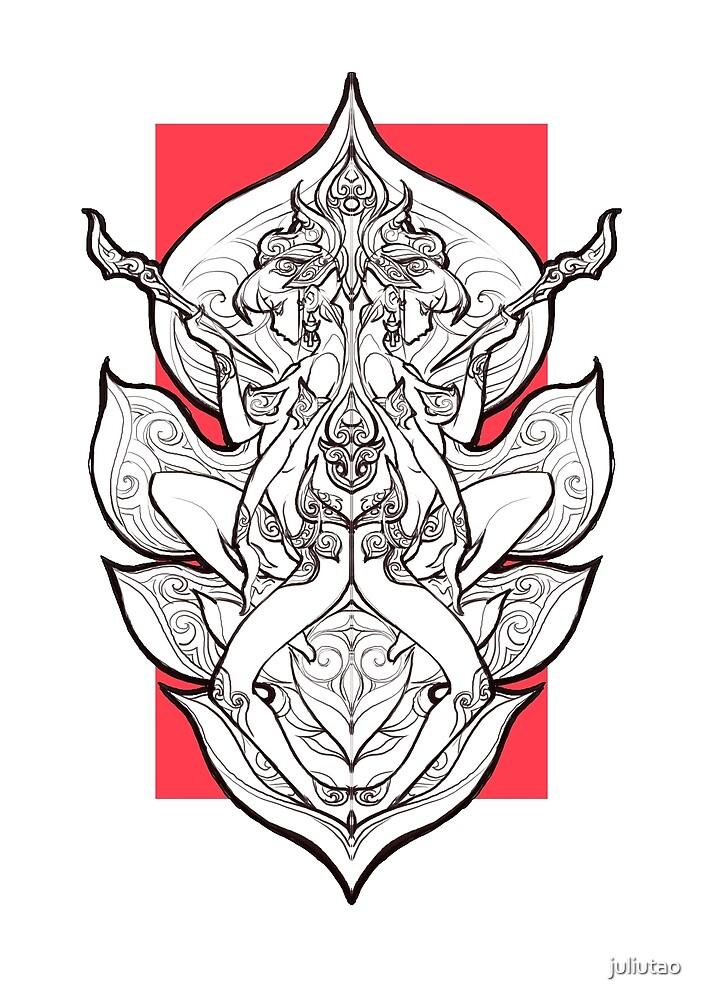 Twins lotus genius by juliutao