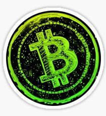 Bitcoin Cash- Green and Yellow Sticker