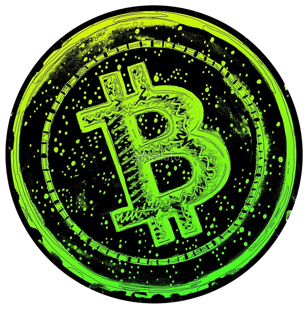Bitcoin Cash- Green and Yellow by opheliafu