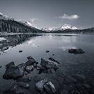 Maligne Lake by George Wheelhouse