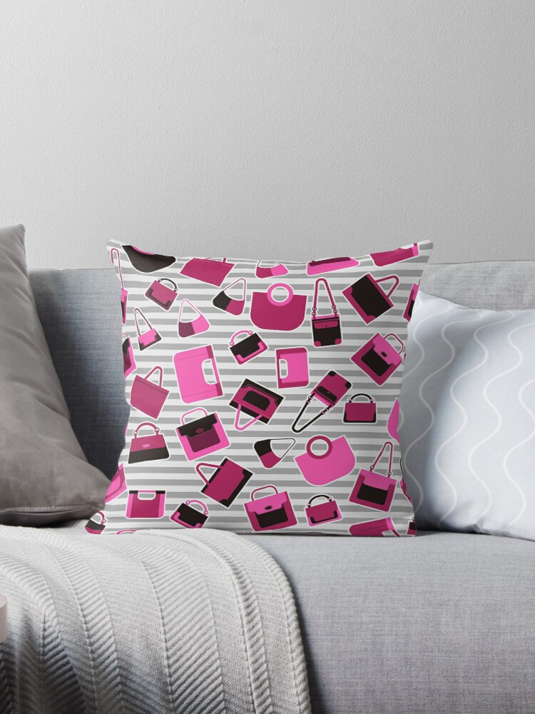 Glamour Pink Handbags by GalinaAlex