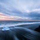 Jökulsárlón Beach by George Wheelhouse
