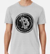 Bitcoin Cash Circle- Black Men's Premium T-Shirt