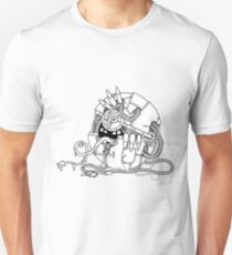 Cyberart Dark Pokemon Pokeball T-Shirt
