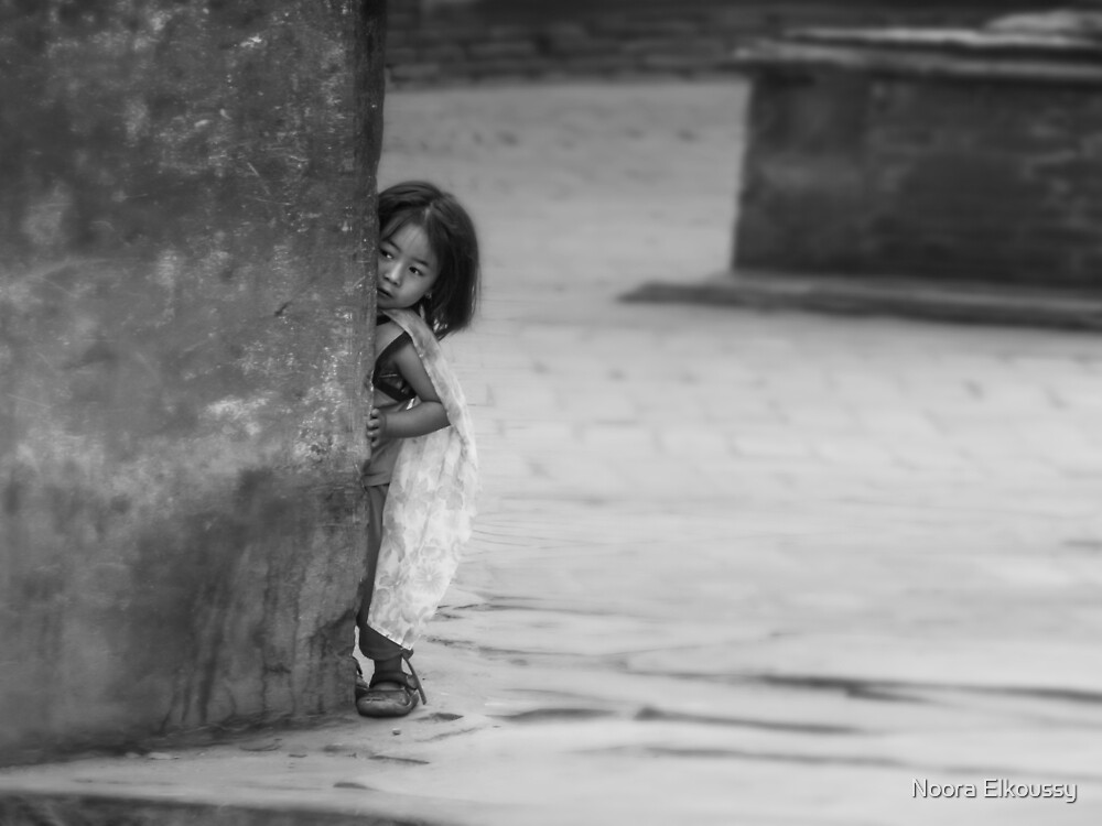 Peek-a-Boo, Nepal Photo by Noora Elkoussy