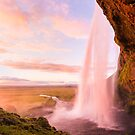 Seljalandsfoss Sunset by George Wheelhouse