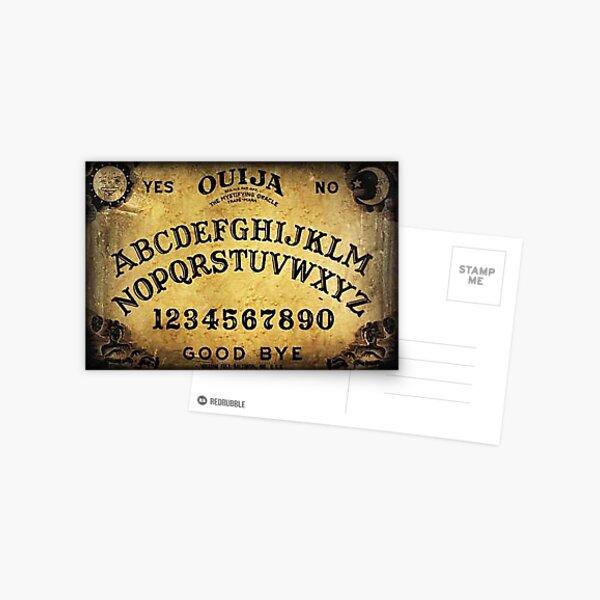 Tablero de juego OUIJA Postal