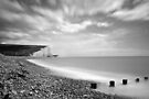 Seven Sisters Cliffs by George Wheelhouse