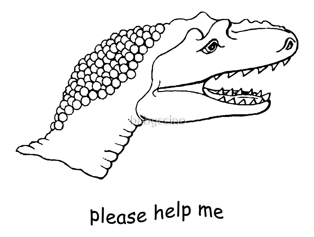 pls help dino by babyccino