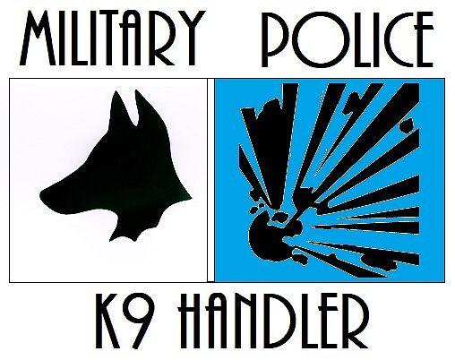 Military Police K-9 by Workingdogs
