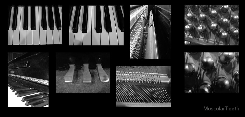 Piano by MuscularTeeth