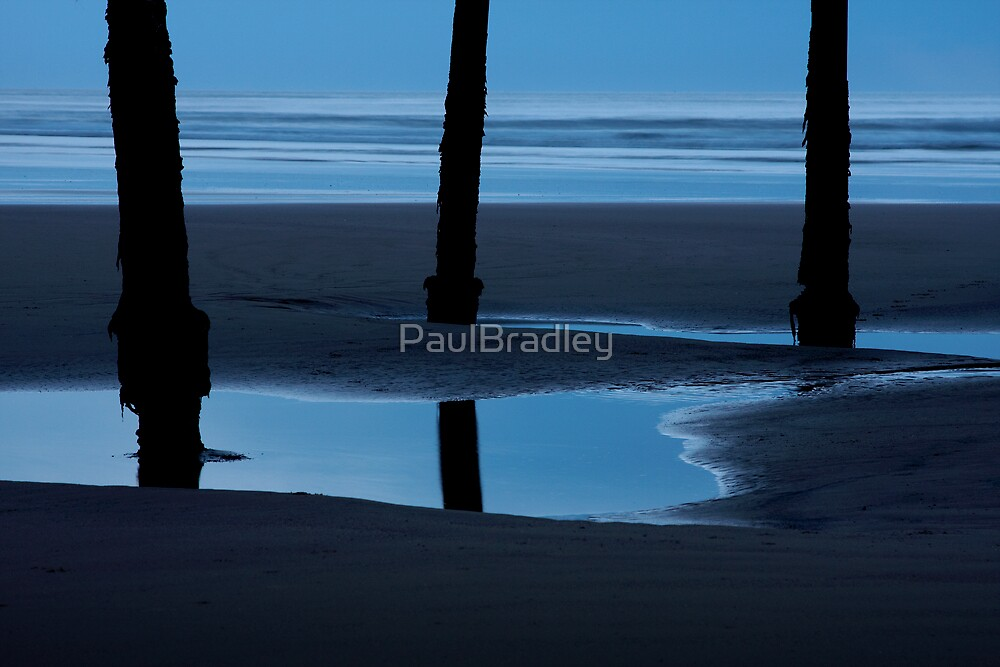 Legs on Blue by PaulBradley