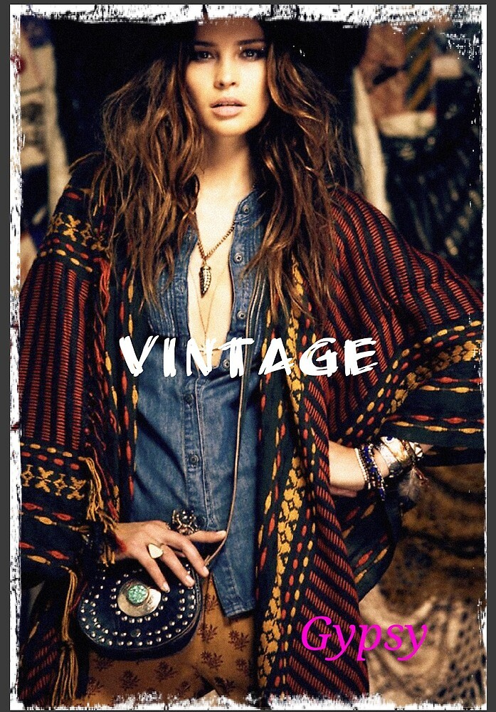Gypsy style adds with vintage touch by Nivinivi12