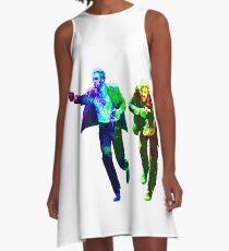 Technicolour Butch and Sundance A-Line Dress