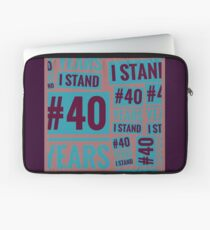 #40YEARSISTAND - (Purples & Blue) Laptop Sleeve