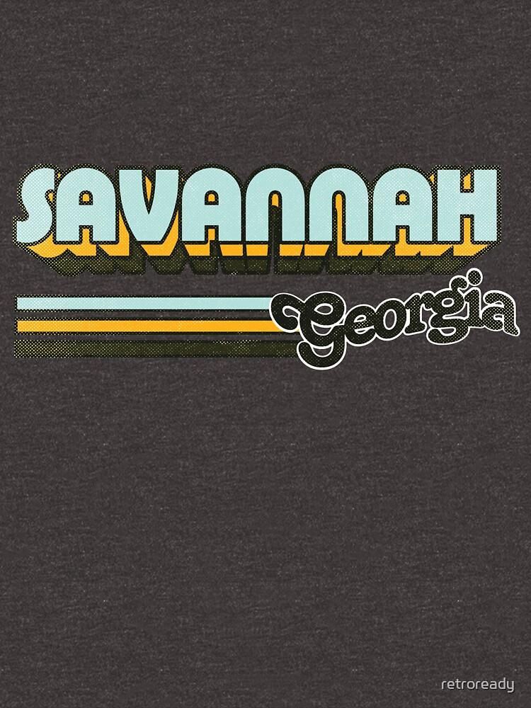 Savannah, GA | City Stripes by retroready