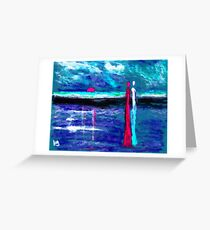 Beach lovers Greeting Card