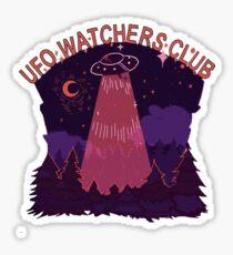 UFO watchers club Sticker