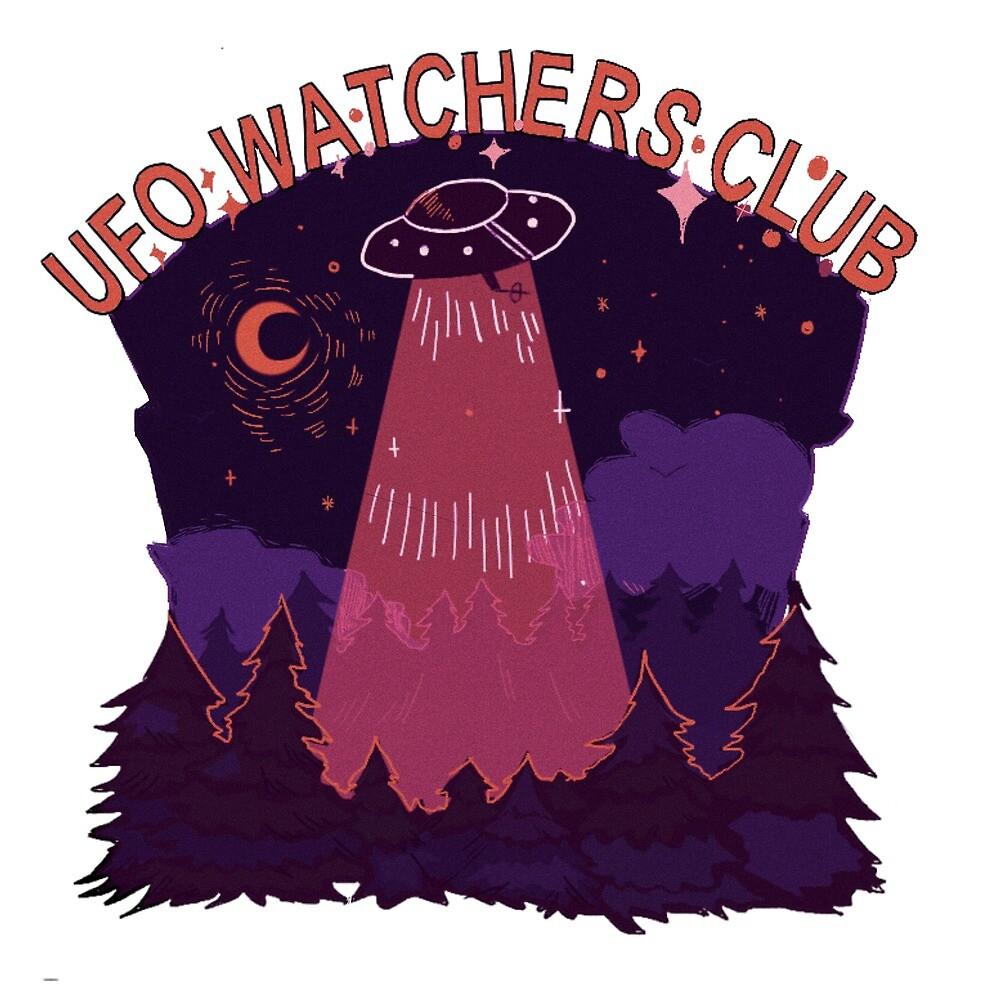 UFO watchers club by belldandy27