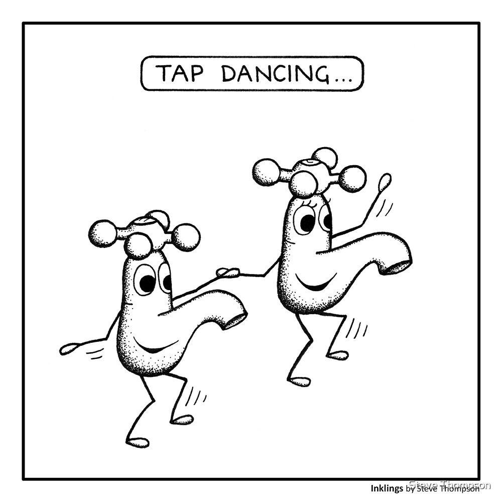 Tap dancing by Steve Thompson