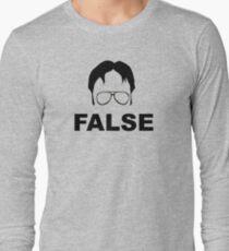 Dwight Schrute False Long Sleeve T-Shirt