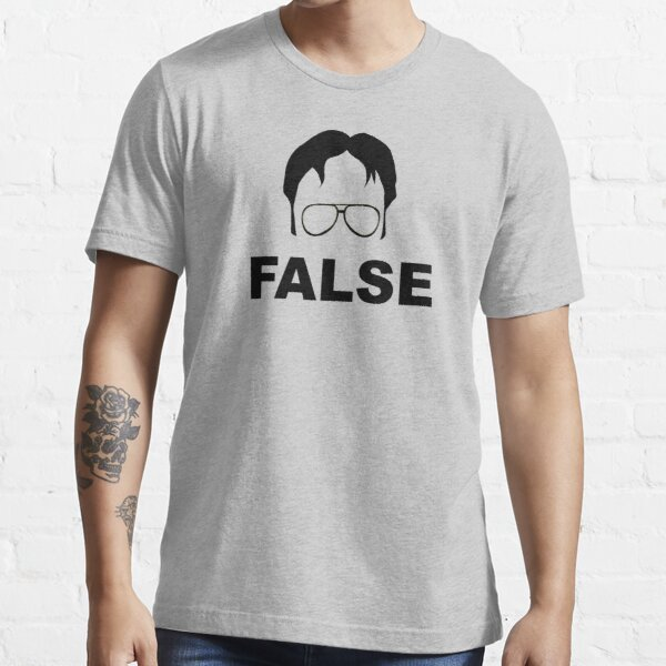 Dwight Schrute False Camiseta esencial