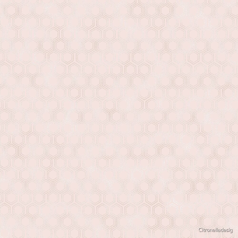 Modern Chic pink geometric texture by Citronelladesig