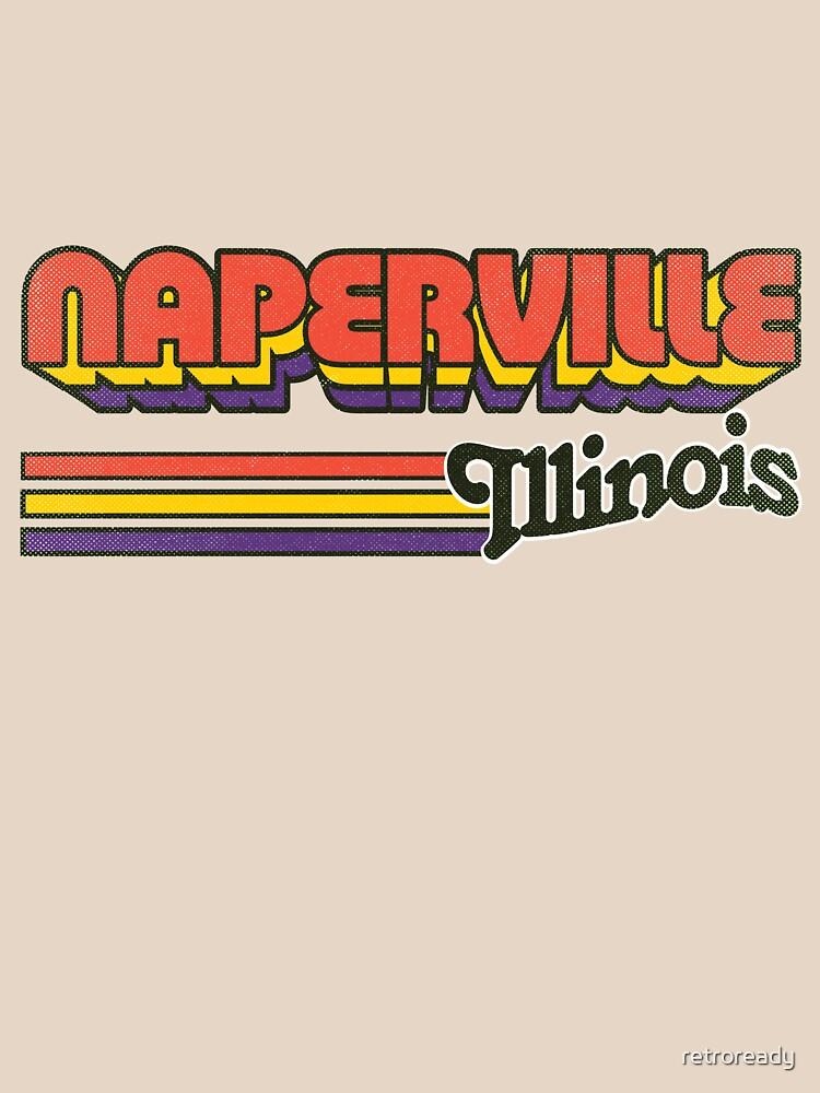Naperville, IL | City Stripes by retroready