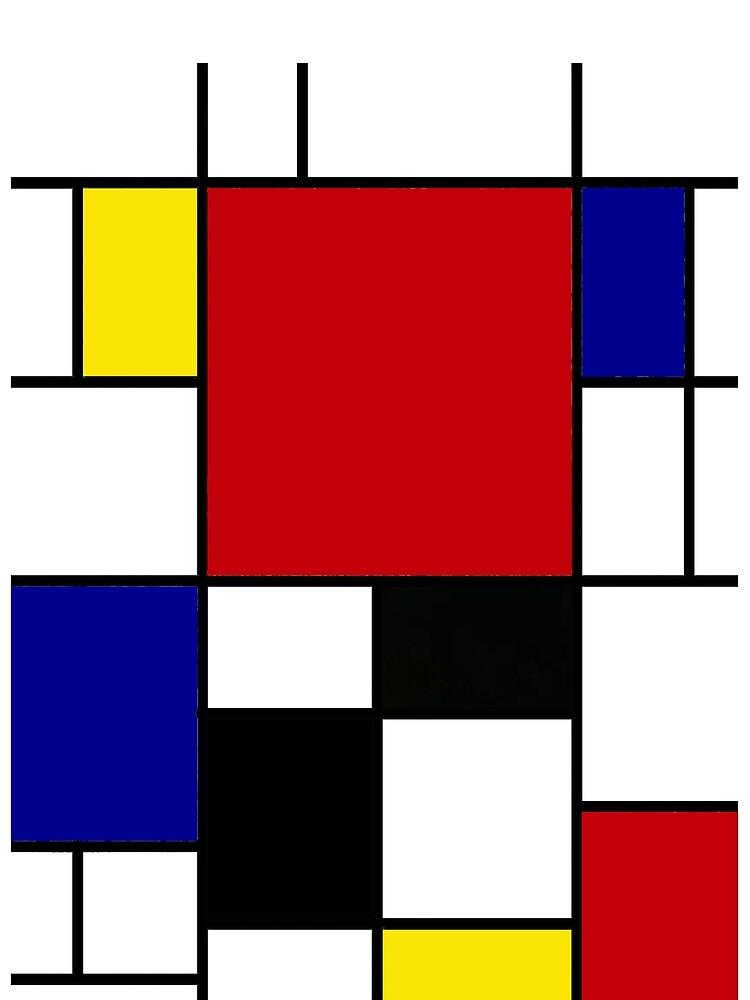 Mondrian by prbell