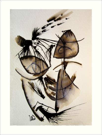 Scribbleau No. 5  by Valliard